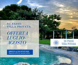Offerta Mensile Villa Su Passu Luglio Agosto Settembre