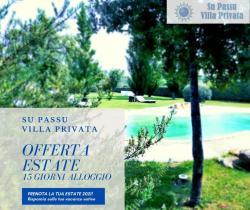 Offerta quindicenale Villa Su Passu Luglio Agosto Settembre Settembre