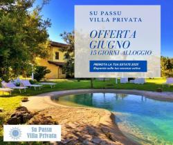 Offerta quindicinale Villa Privata Su Passu Giugno